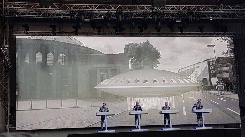 Kraftwerk Düsseldorf 2017 Spacelab