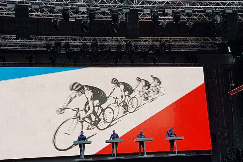 Kraftwerk Düsseldorf 2017 Tour de France