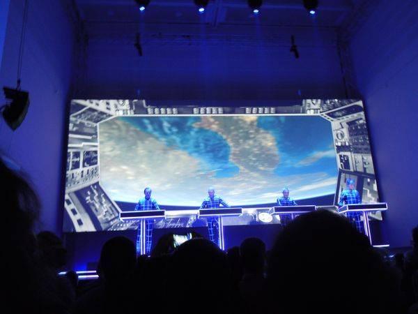 Kraftwerk 16.01.2013 - Düsseldorf - Spacelab