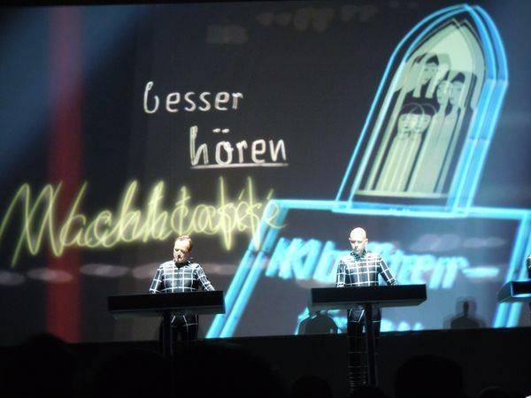 Kraftwerk 16.01.2013 - Neonlicht