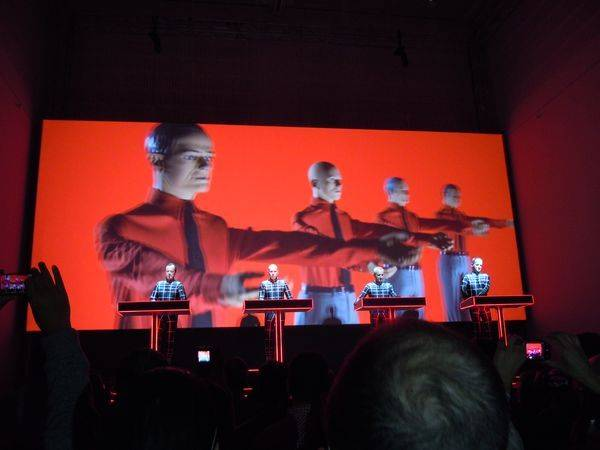 Kraftwerk 16.01.2013 - Die Roboter