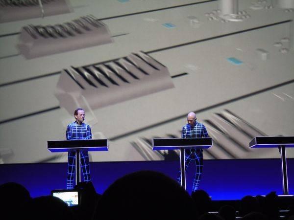 Kraftwerk 16.1.2013 - Music Non Stop