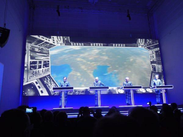 Kraftwerk 17.01.2013 - Düsseldorf - Spacelab