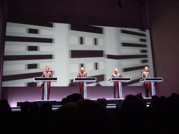 Kraftwerk 17.1.2013 - Düsseldorf - Metropolis