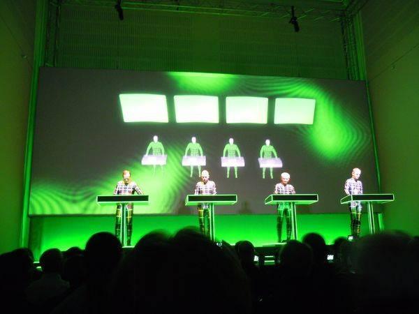 Kraftwerk 17.1.2013 - Düsseldorf - Planet der Visionen