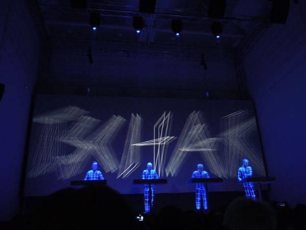 Kraftwerk 17.1.2013 - Düsseldorf - Boing