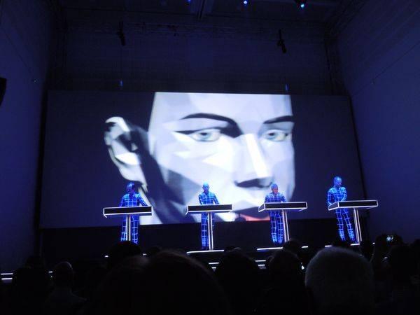 Kraftwerk 17.1.2013 - Düsseldorf - Musik Non Stop