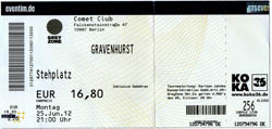 Gravenhurst Ticket