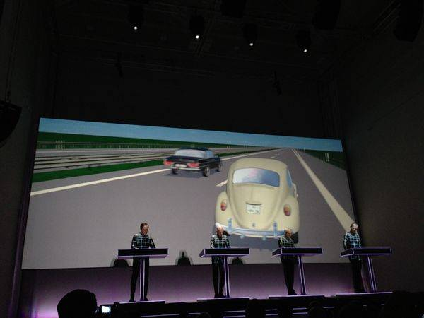 Kraftwerk 16.1.2013 - Autobahn