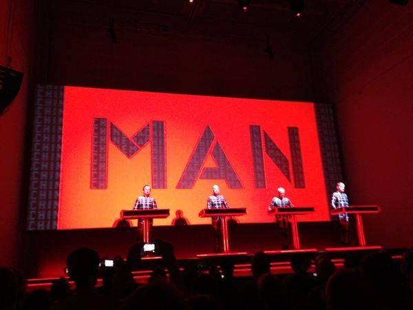 Kraftwerk Düsseldorf 16.1.2013 Man Machine