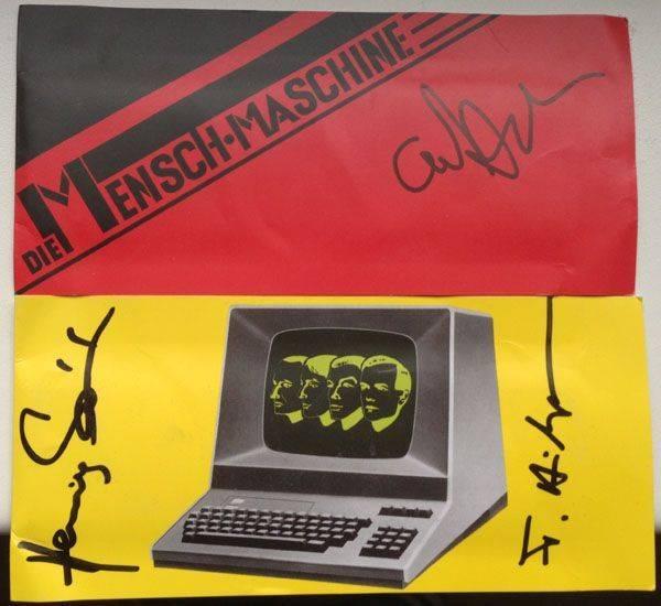 Autogramme Kraftwerk