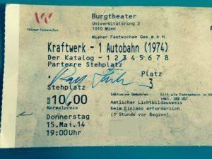 Ticket JKraftwerk